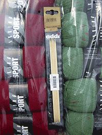 Addi - Nadelspiel Bambus 3,0 - Länge: 20 cm