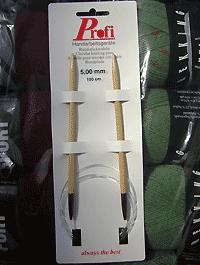 Rundstricknadel - Bambus 5,0 - Länge: 100 cm