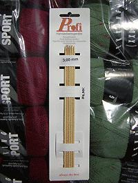 Nadelspiel Profi - Bambus 3,0 - Länge: 20 cm