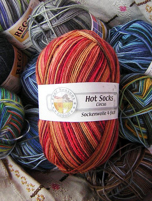 Hot Socks Circus - Zirkusarena - Farbe 527