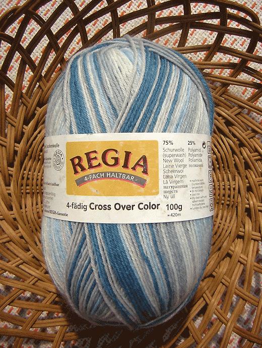 Cross Over Color -  blau grau weiss hellblau - Farbe 04529