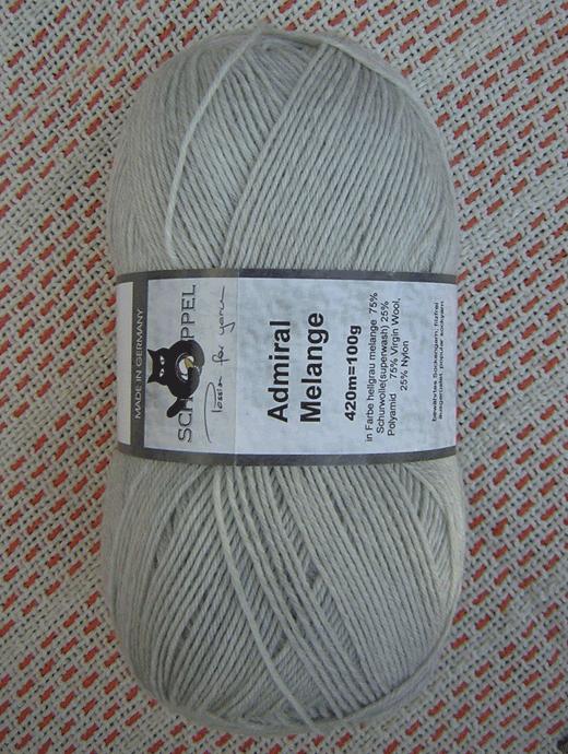 Admiral Melange - Hellgrau Melange - Farbe 9220