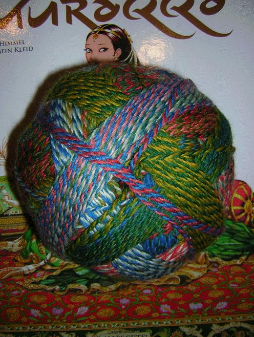 Zauberball Stärke 6 - Papagei - Farbe 1701