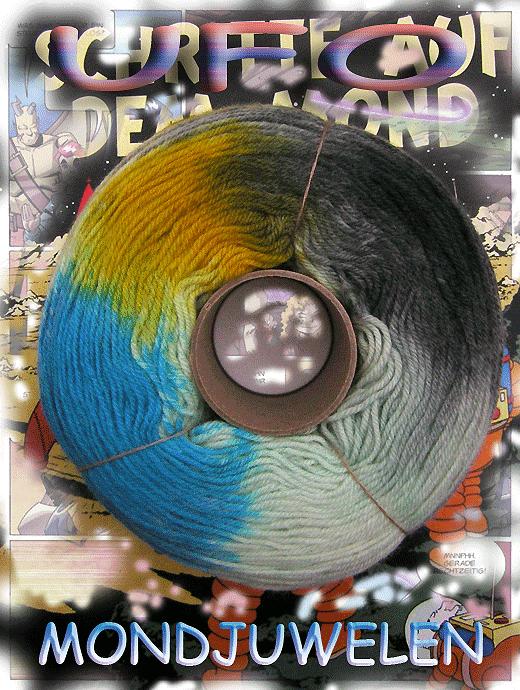 Fliegende Untertasse - Mondjuwelen - Farbe 2119