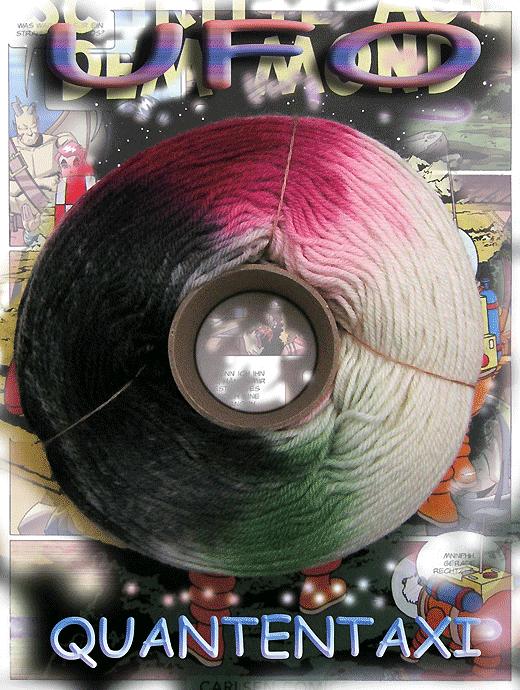 Fliegende Untertasse - Quantentaxi - Farbe 2122