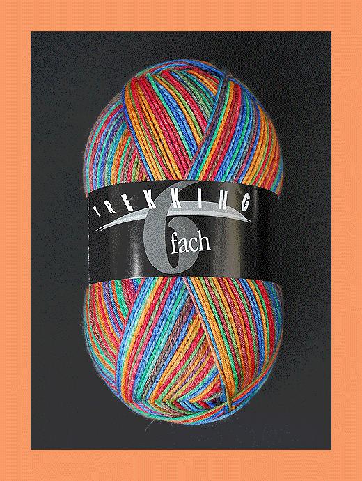 Trekking 6-fach Color - B�ckerin - Farbe 1802