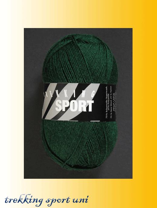 Trekking Sport - tannengrün - Farbe 1466
