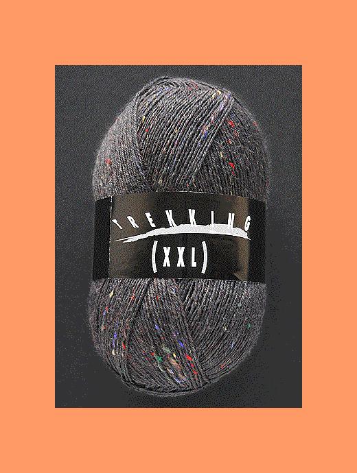 Trekking XXL Tweed - steingrau - Farbe 230
