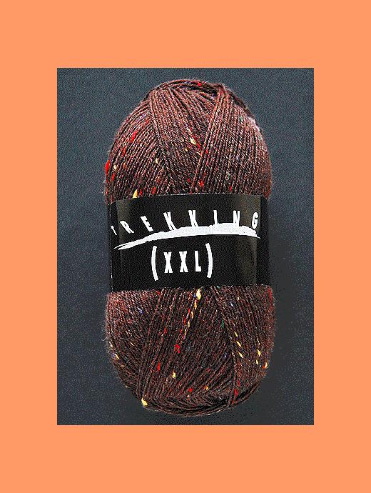 Trekking XXL Tweed - brombeere - Farbe 255