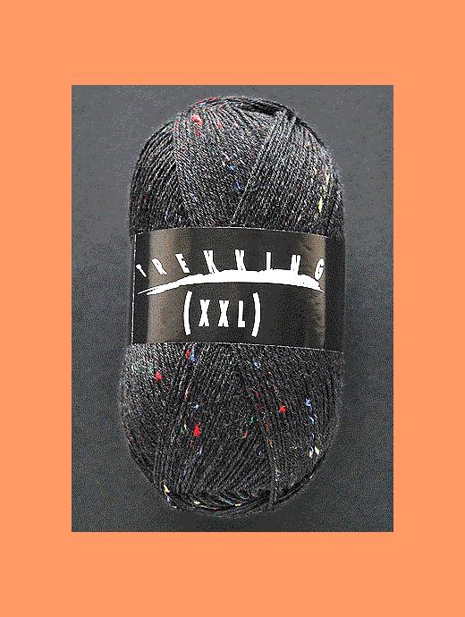 Trekking XXL Tweed - schwarz - Farbe 270