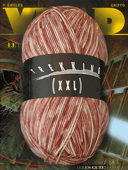 Trekking XXL Pfeffer und Salz - Römische Kachel - Farbe 464