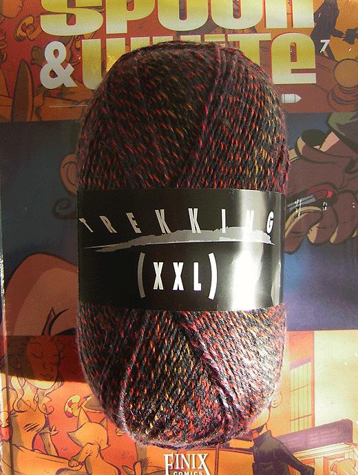 Trekking XXL Ombre - Chiastolith - Farbe 108
