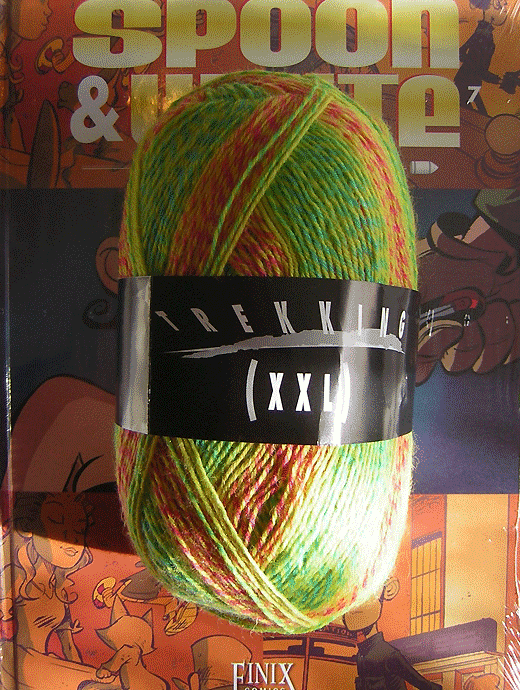 Trekking XXL Ombre - Sommerwiese - Farbe 120