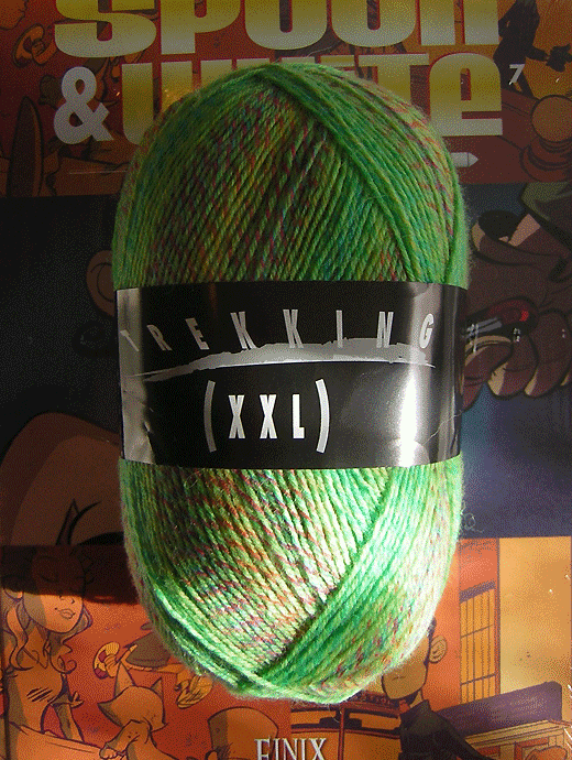 Trekking XXL Ombre - Wiesengl�ck - Farbe 122