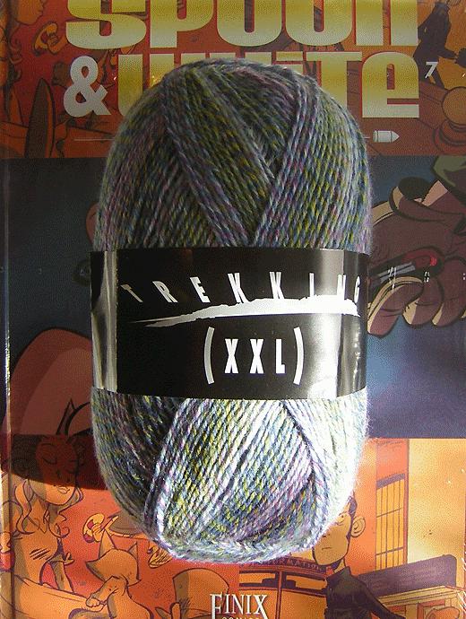 Trekking XXL Ombre - Aquafrisch - Farbe 126