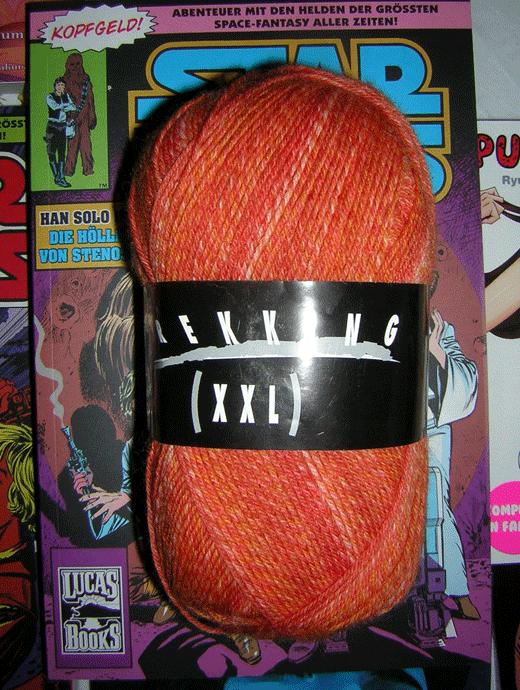 Trekking XXL Ombre -  Superkoralle - Farbe 8177