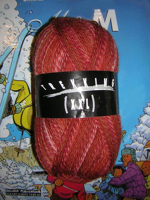 Trekking XXL Ombre - Preiselbeeren - Farbe 146