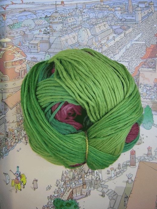Gradient Wolle - Teezeremonie - Farbe 2249