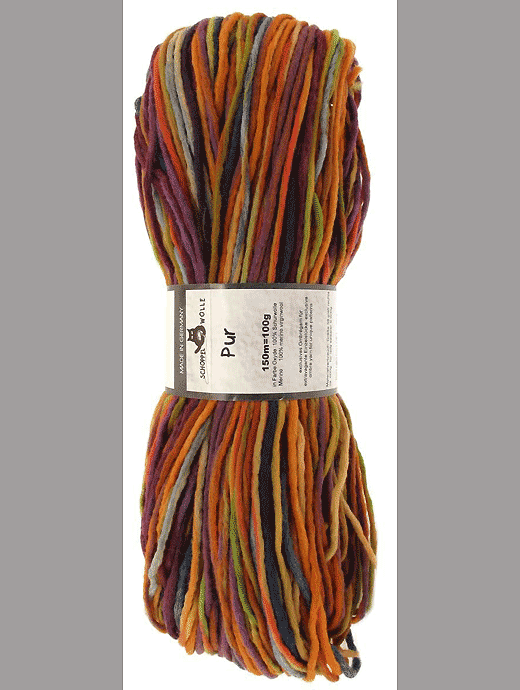 Pur Wolle - Oxyde - Farbe 1659ombre