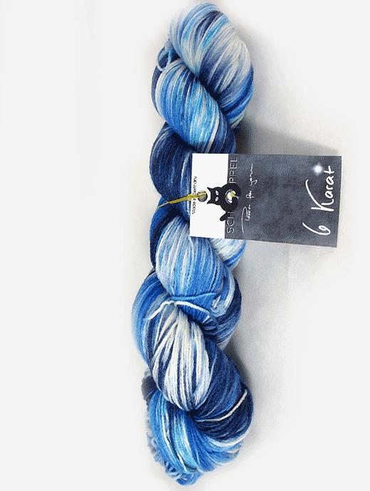 6 Karat Wolle - Blauer Planet - Farbe 2155