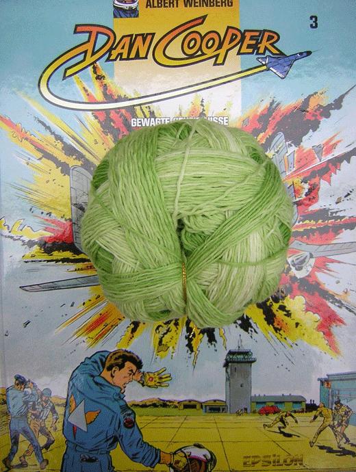 XL Kleckse - Minzig - Farbe 2189