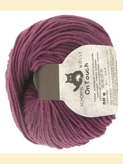 On Touch Uni - aubergine  - Farbe 3185