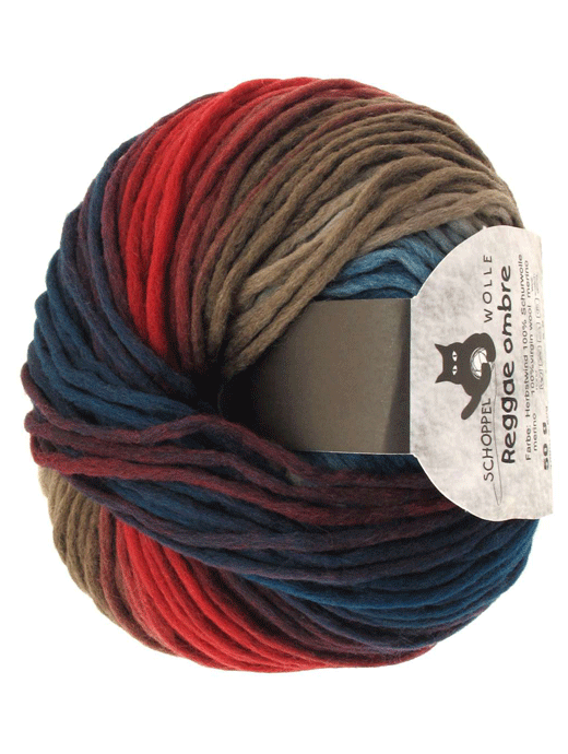 Reggae Ombre - Herbstwind - Farbe 1507