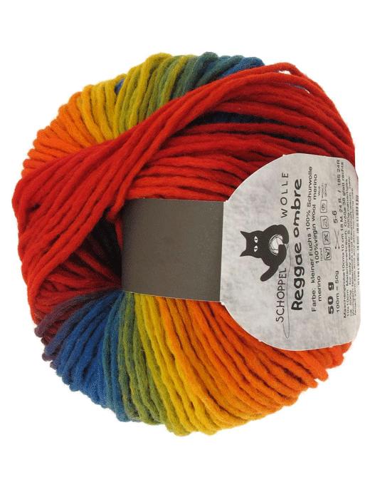 Reggae Ombre - Kleiner Fuchs - Farbe 1702