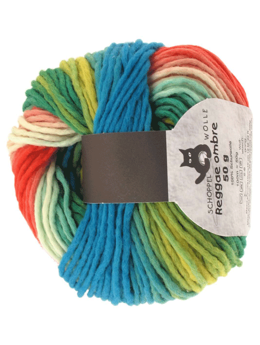 Reggae Ombre - Papagei - Farbe 1701