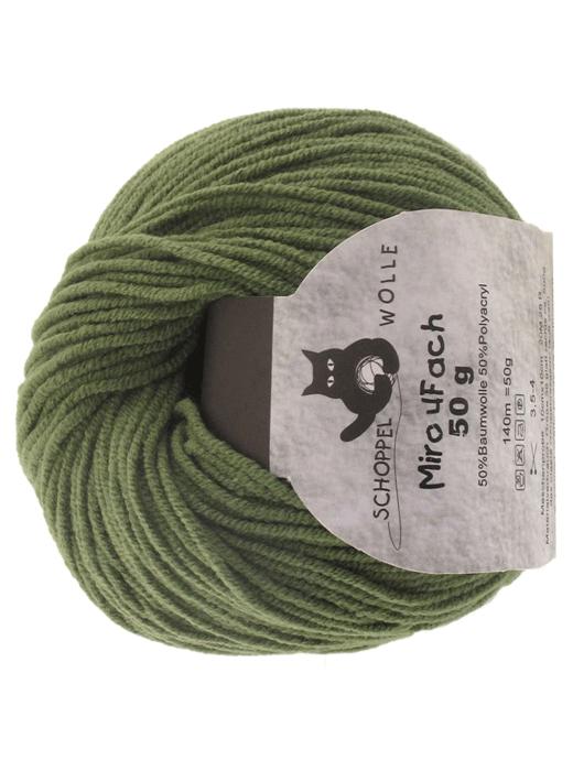 Miro 4 fach Uni - olive - Farbe 6290