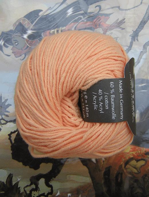 Polo Uni - lichtorange - Farbe 71