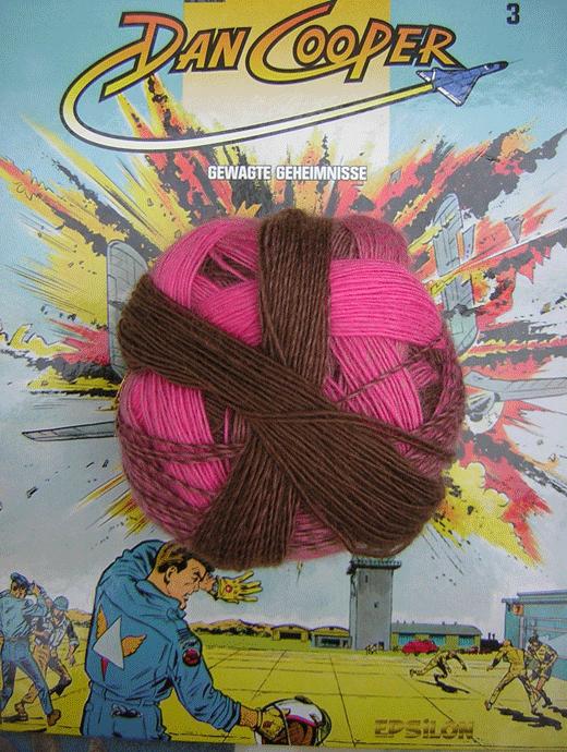 Zauberball 100 - Rosa Tr�ume - Farbe 2228
