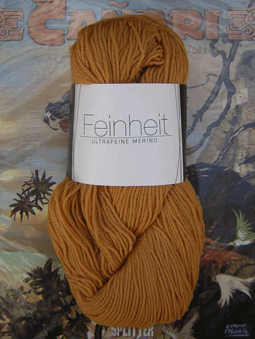 FEINHEIT - ocker  - Farbe 1603