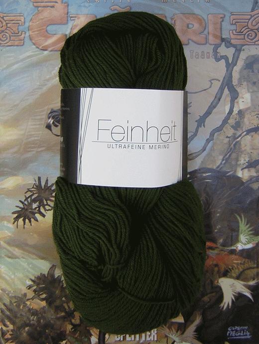 FEINHEIT - tannengrün - Farbe 1606