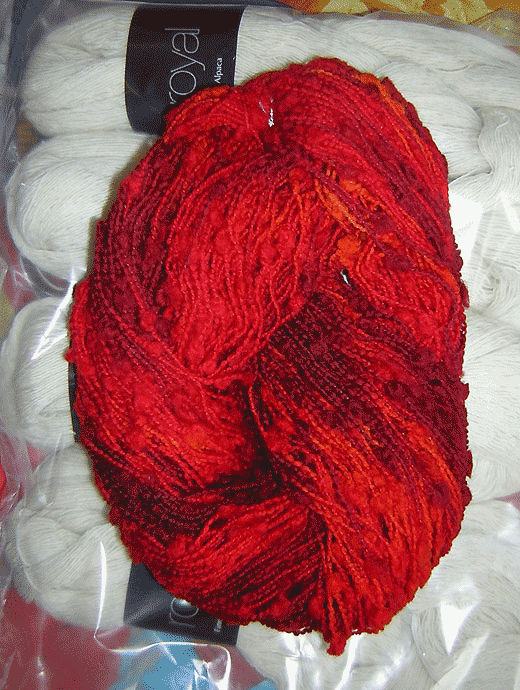 Blickfang Wolle - Feuervogel - Farbe 870