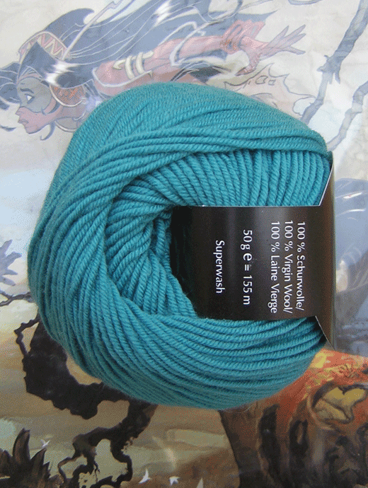Life Style Wolle - türkis himmlisch - Farbe 62