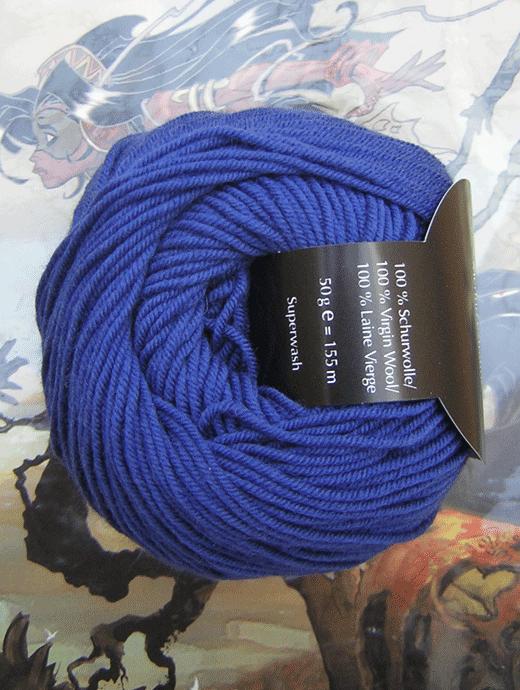 Life Style Wolle - indigo - Farbe 86