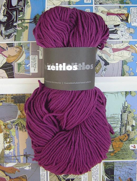 Zeitlos Uni - orientviolett - Farbe 120