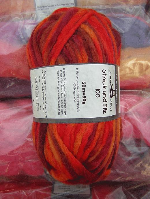 Strick und Filz 100 - lumiere  - Farbe 2050bedr