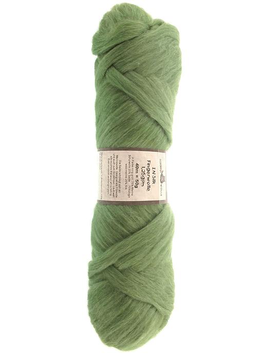 Filzwolle In Silk Fingerwolle - mintgrün - Farbe 6051