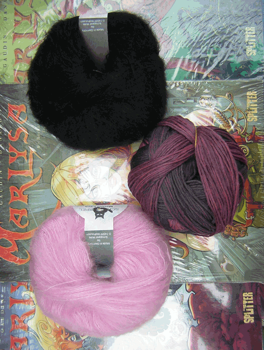 Wollpaket: Longpulli Grauzone: Grösse 40/42 - Farbe 2246, 2140, 880