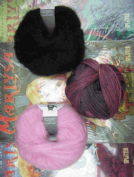 Wollpaket: Longpulli Grauzone: Grösse 44/46 - Farbe 2246, 2140, 880