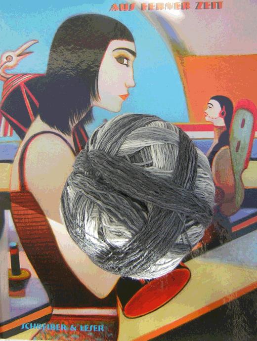 Wollpaket: Tunika mit Raglanärmel: Grösse 40/42 - Farbe 2251