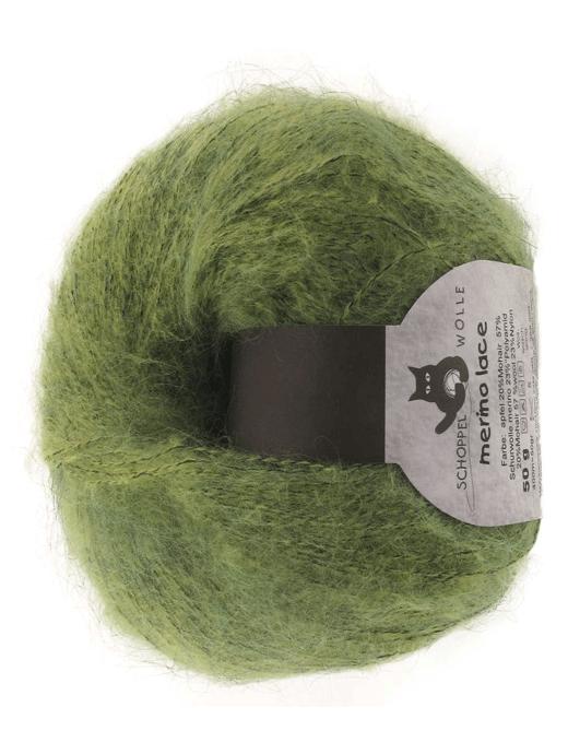 Merino Lace - apfel - Farbe 6070