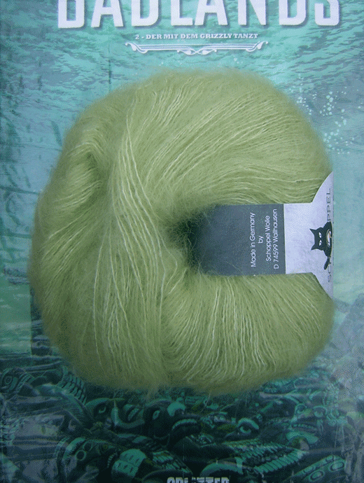 Merino Lace - fr�hlingsgras - Farbe 6770