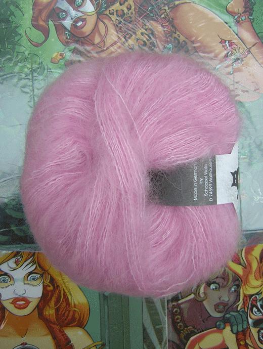 Merino Lace - ros� - Farbe 2140