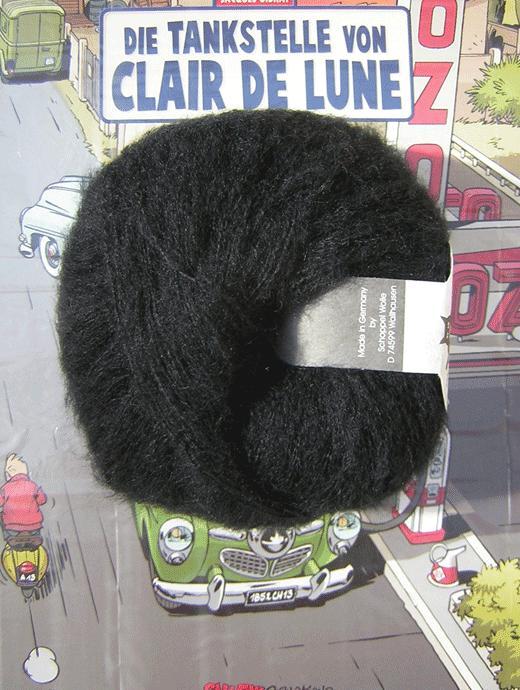 Merino Lace - schwarz - Farbe 880
