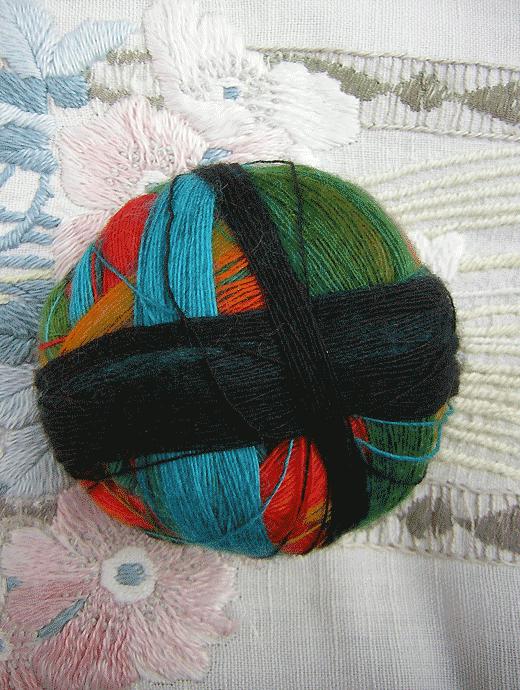 Lace Ball - Frische Fische - Farbe 1564bedr