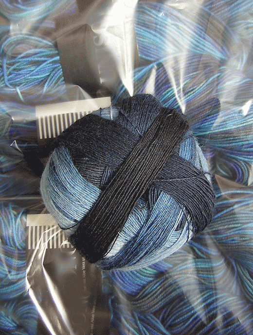 Lace Ball - Stone Washed - Farbe 1535ombre