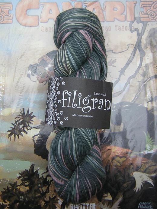 Filigran Lace Farbverlauf - Munterer Hutmacher - Farbe 75
